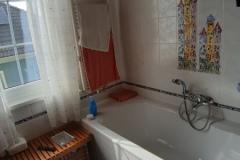 Badezimmer vor der Renovierung